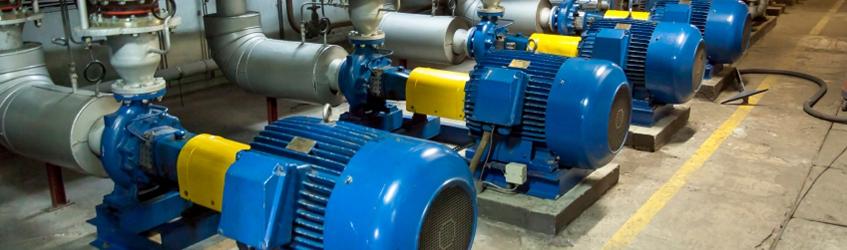 Насосы и электродвигатели