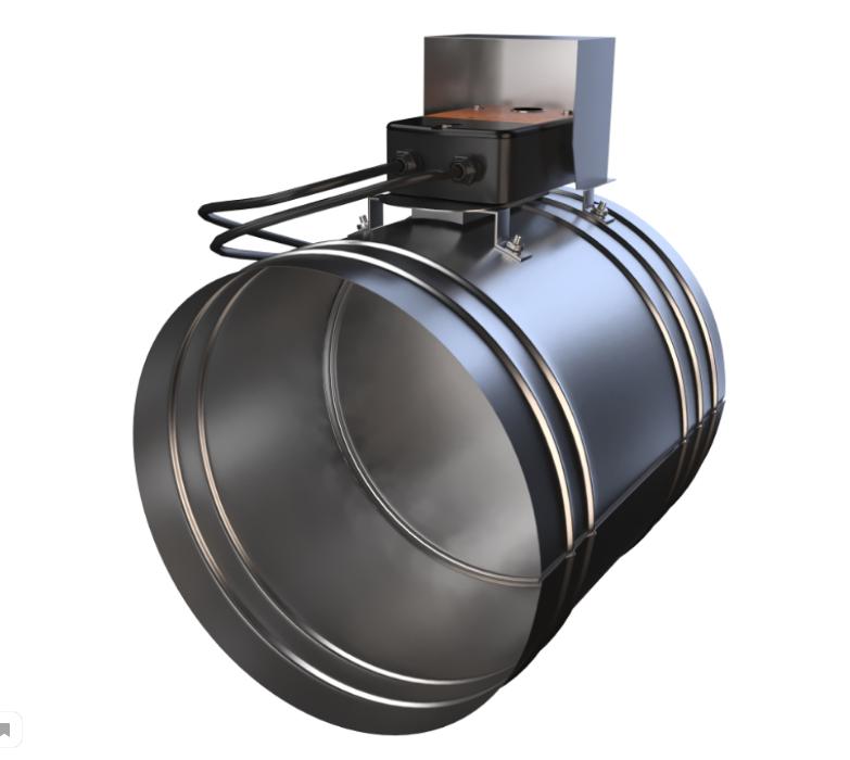 Клапан противопожарный нормально закрытый ФКС-2М(90) НЗ