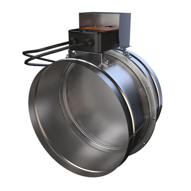 Клапан противопожарный дымовой ФКС-1М (120) Д