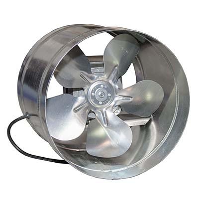 Вентилятор ВКО 250 осевой в канале на Q моторах ebmpapst (1070 m³/h)